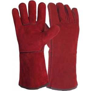 Gants de soudeur rouge GOLDEX 51SIREP15