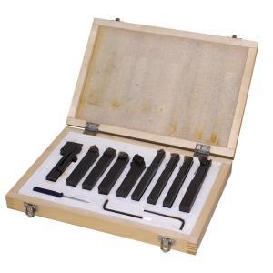 Jeu d'outils de coupe tour à métaux 10mm Holzmann 9TLG10