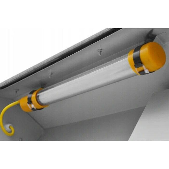 Cabine-de-sablage-110L-Aurora-eclairage-cabine