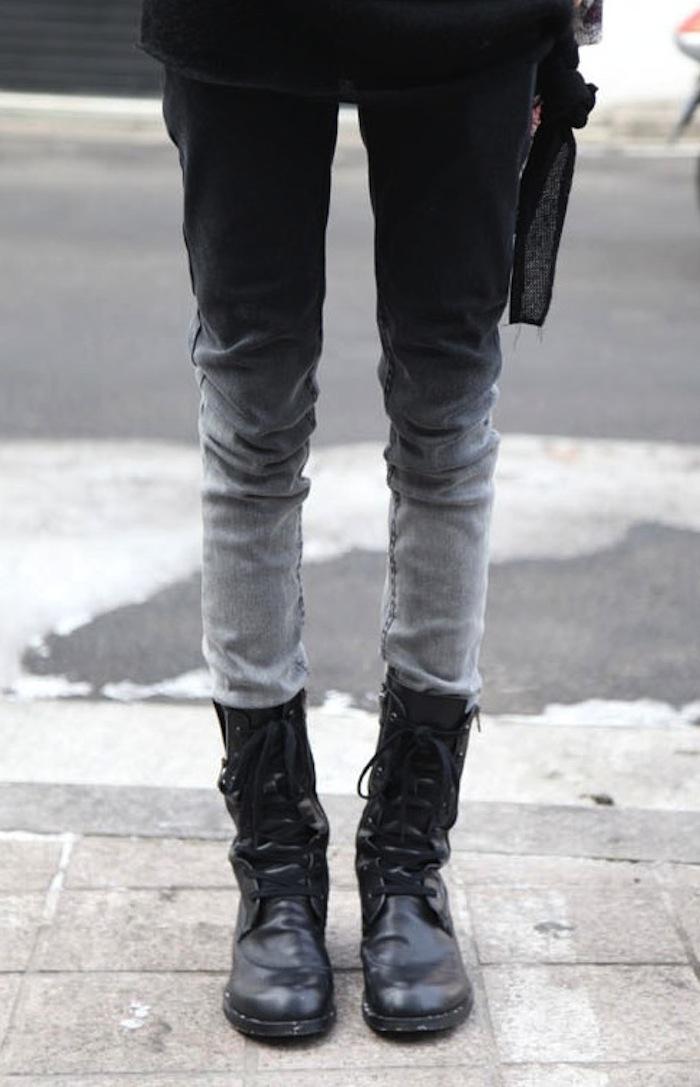 hombre dye jeans