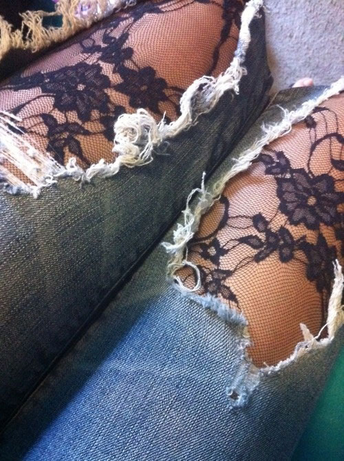 metal-jewelry-lace-denim