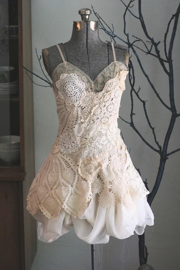 crochet dress gown 3
