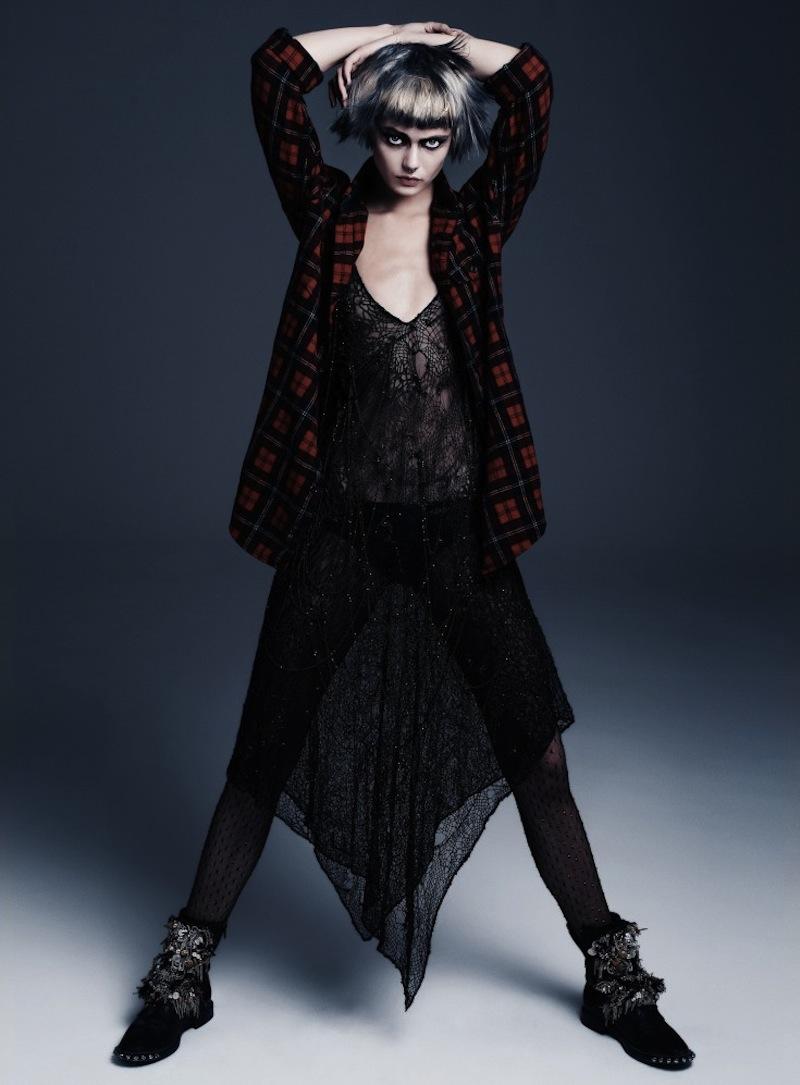 Frida-Gustavsson-by-Steven-Pan-Punk-Attitude-Flair-6-Fall-2013-11-735x997