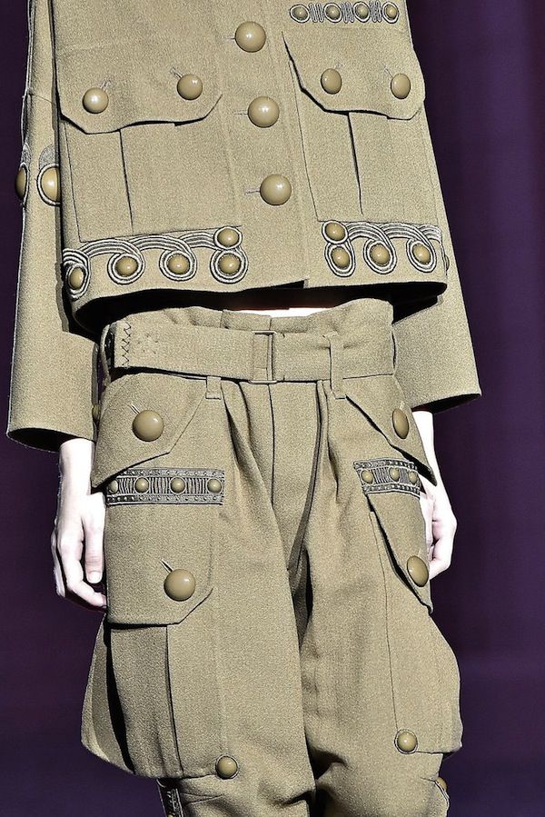 Marc Jacobs SS2015 army styling 2