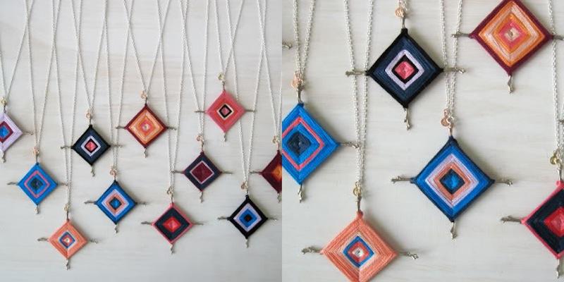 The Ojo de Dios Gods Eye weawing crafts melissa_j_tyson