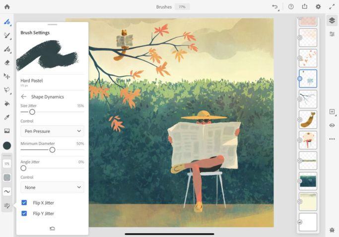 Screenshot Fresco
