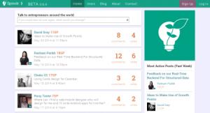 Sproutr réseau social