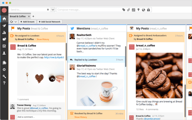 hootsuite collaboratif