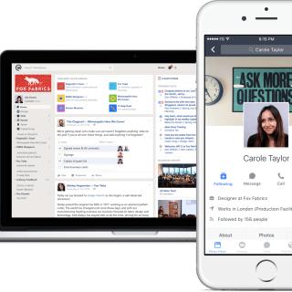 facebook workplace réseau