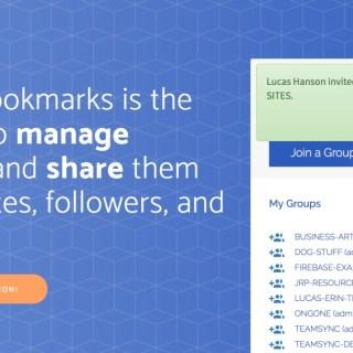 Teamsync bookmarks