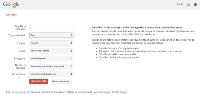 Google Alerte