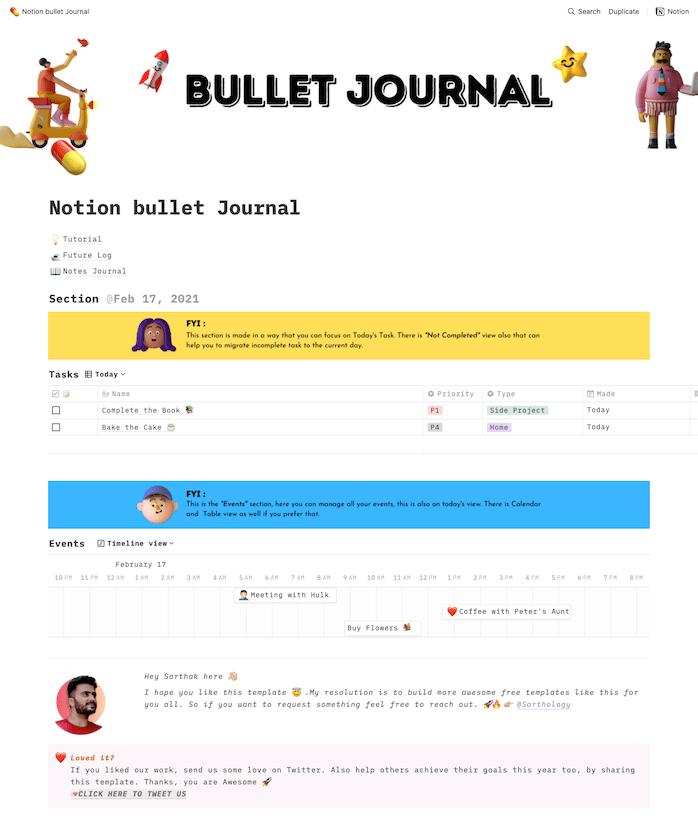Notion Modèle Journal