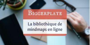 Biggerplate – la bibliothèque de mindmaps en ligne