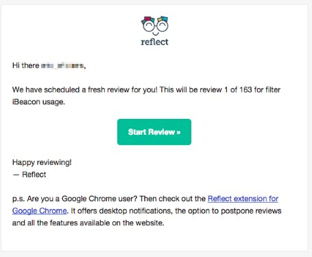 reflect evernote