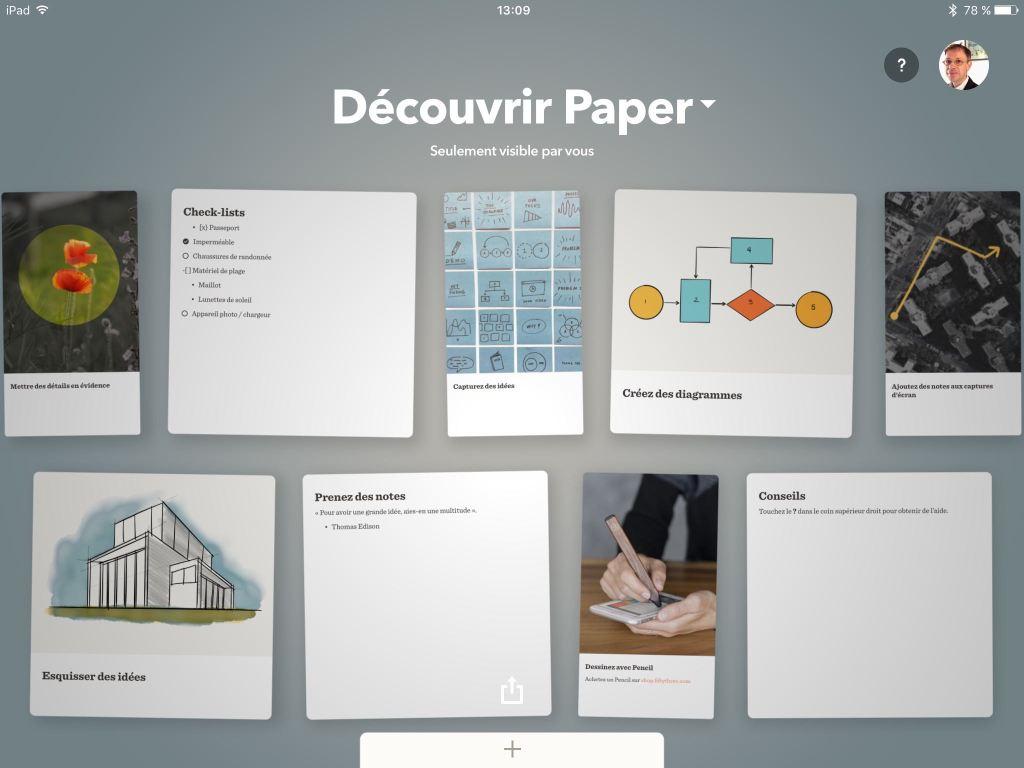 Paper iPad
