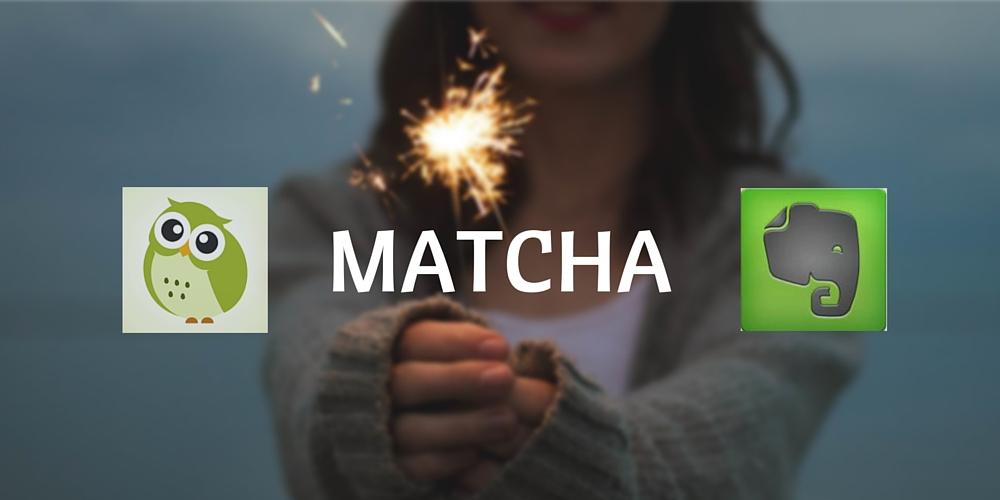 MATCHA client Evernote