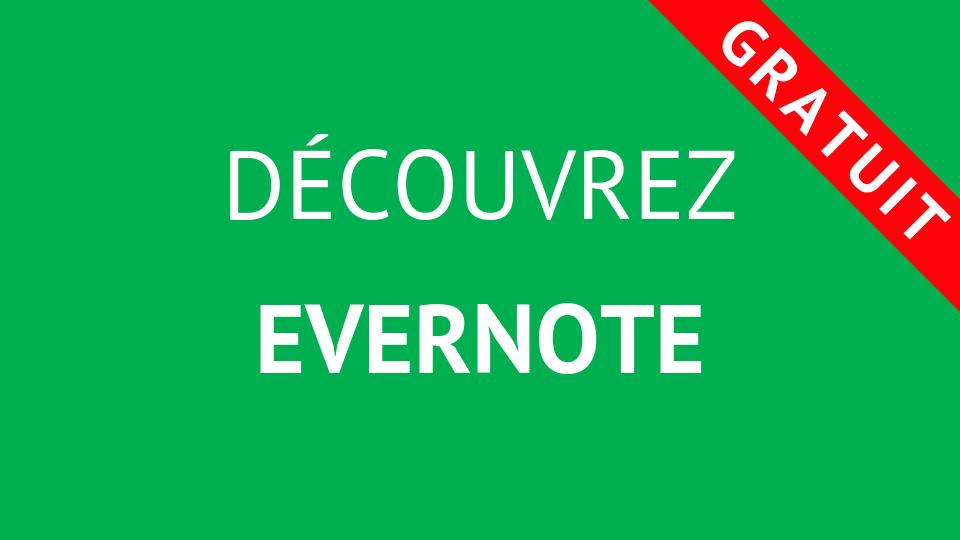 Formation Découvrez Evernote
