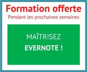 Formation Evernote offerte