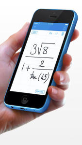 MyScript calculator iPhone