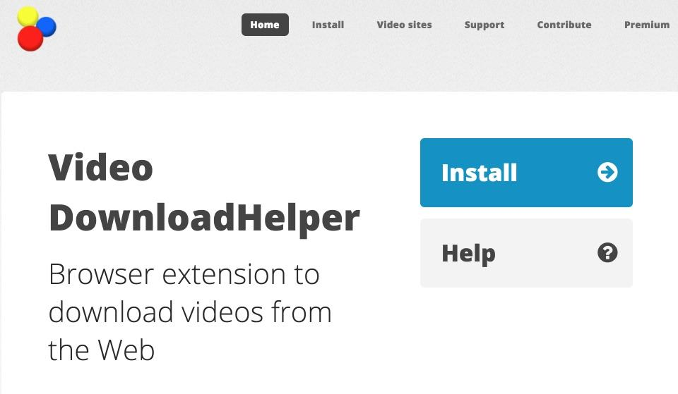 DOWNLOADHELPER CHROME GOOGLE TÉLÉCHARGER AVEC