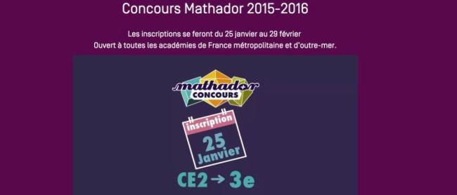 Concours Mathador