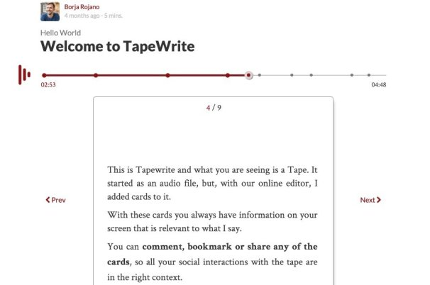Tapewrite