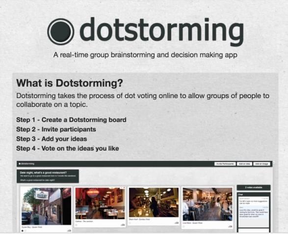 Dotstorming