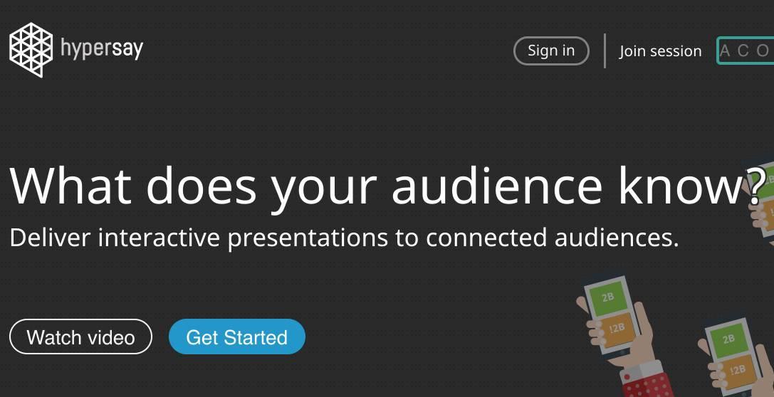 HyperSay. Créer des présentations interactives
