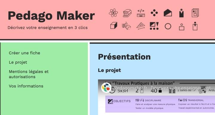Pedago Maker