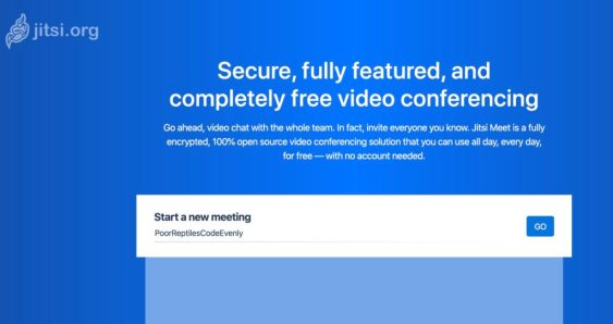 Jitsi conference  gratuite