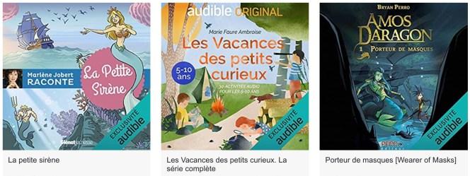 livres audio enfants