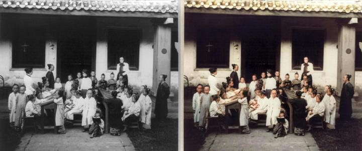 Coloriser des photos noir et blanc