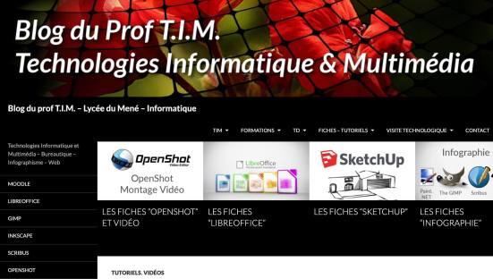 Le blog du Prof TIM