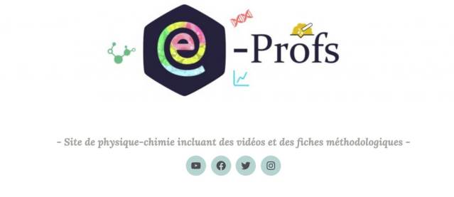 blog profs physique chimie