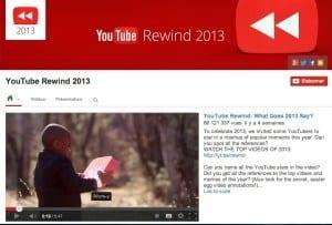 Youtube rewind 2013