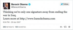 premier tweet obama