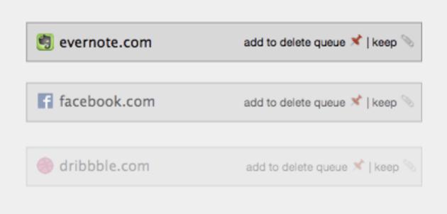 Nettoyeur comptes internet