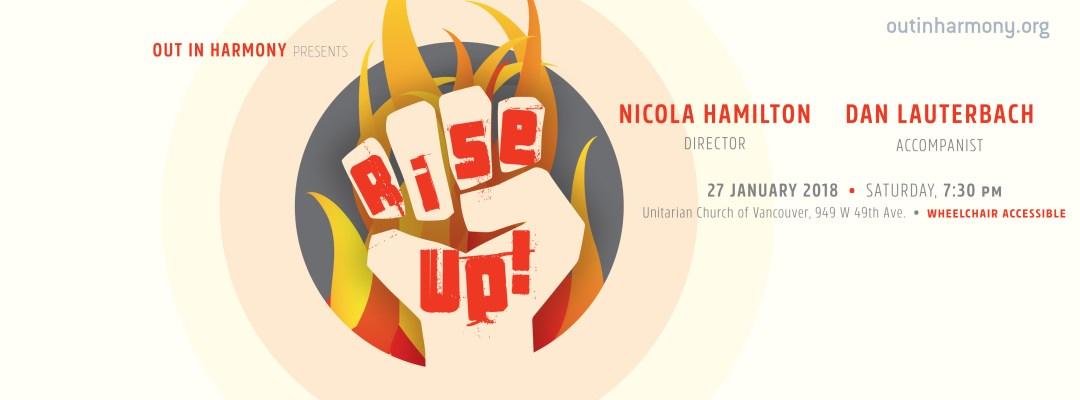 rise up concert details