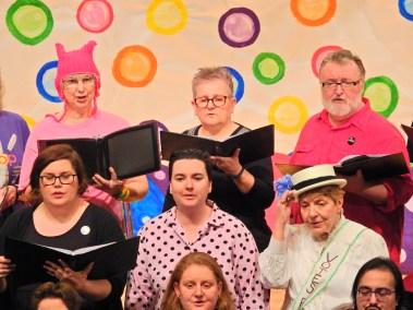 Altos in Out in Harmony Choir