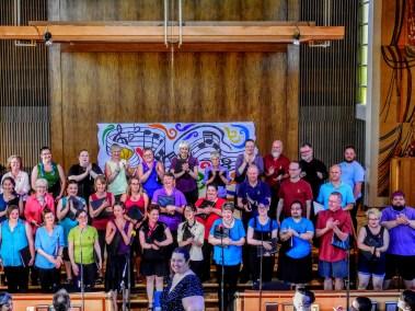 Choir and Nicola