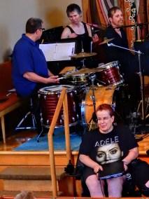 Instrumentalists with Christine