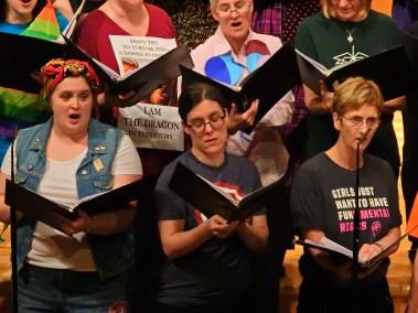 Sopranos in Choir