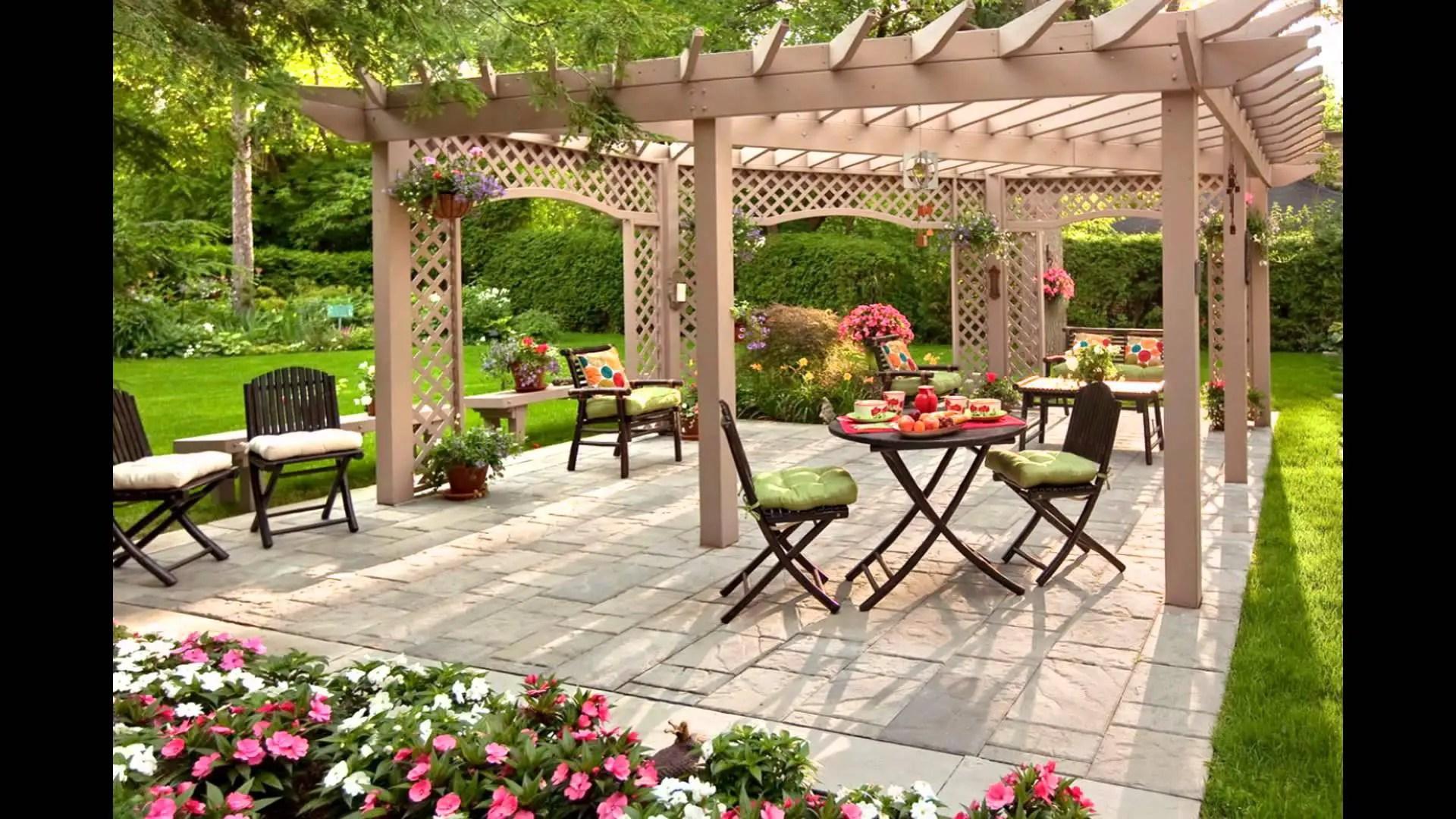 Outdoor Garden Decorating Ideas