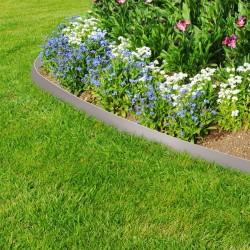 bordure de jardin flexible pour massifs allees parterres avec piquets de maintien 10 metres de long