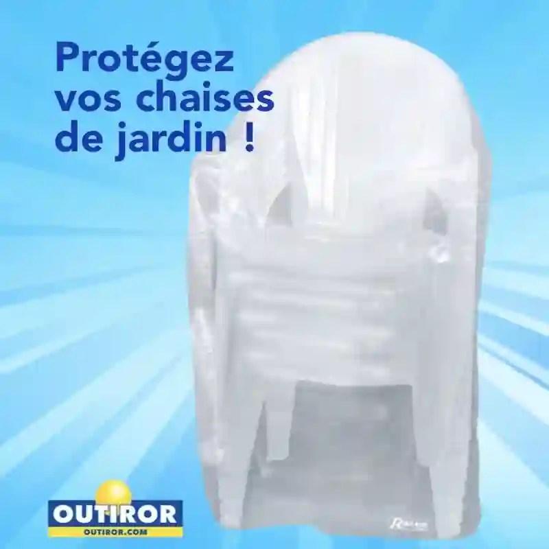 housse pour chaise avec accoudoir ou fauteuil en 90gr m2 90x70xh115cm pour chaises avec accoudoirs