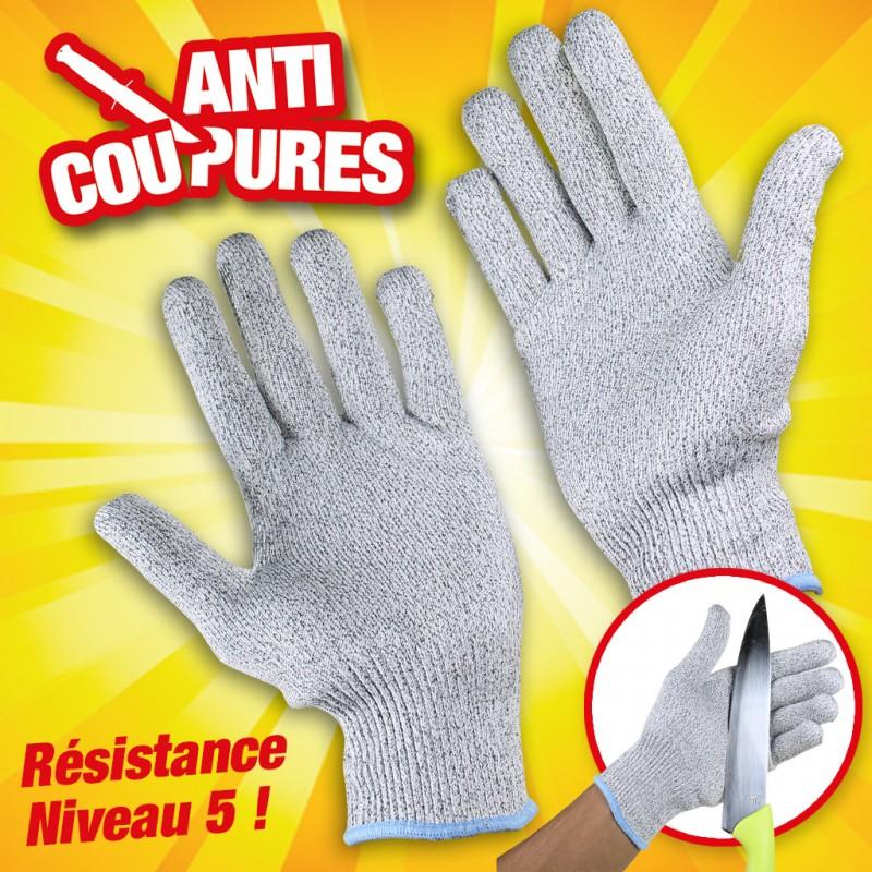 paire de gants anti coupure