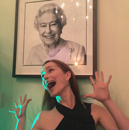 Happy 89th Queen E! (I am singing for you) #brittweek #LA