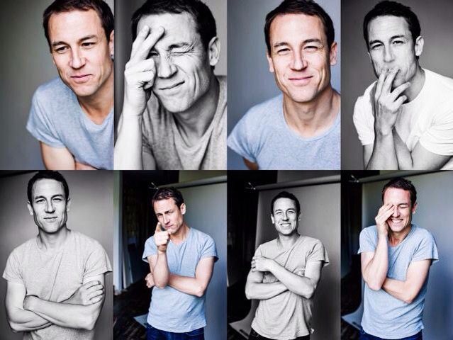 Great session with @TobiasMenzies handsome extremely funny & happy to make an arse of himself #mostfunivehadallweek