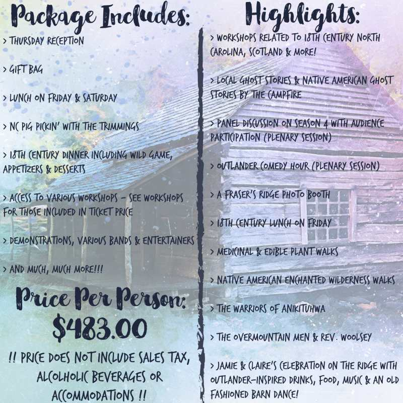 Homecoming 2019 Package Graphic