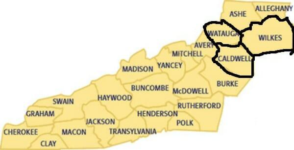 Fraser Ridge Nc Map.Where Is Fraser S Ridge North Carolina Outlander North Carolina